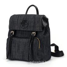 New Arrival Korean Female Leisure Jean Backpack (pH1836)