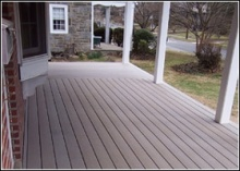 Easy click install Wood Plastic Composite board by Extrusion Molding