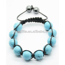 Fashion 10PCS Turquoise Stone Bracelet