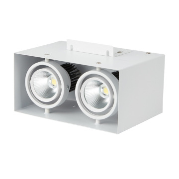 Downlight LED blanc chaud 7W rectangulaire