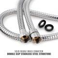 Tuyau de douche flexible en acier inoxydable 304 en métal