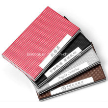 Ultrathin Customized Business Card Holder, Leather Business Card Holder