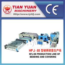 Couettes de haute production de haute qualité faisant des machines