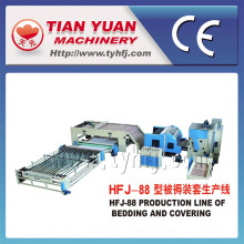 Edredons de alta qualidade alta produção fazendo máquinas