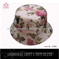 Горячие продажи печатных ведро шляпы цветочные печати шляпу