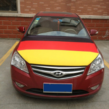 EUFA Promotional Gift Spandex Fabric Car Engine Hood cover with Germany Flag