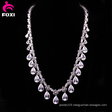 Elegant Fashion Zircon Fine Jewelry Necklace