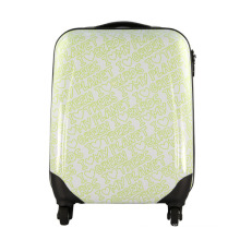 New Fashion Green PC Luggage Travel Bag Suitcase (HX-W3635)