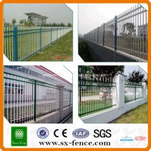 Popular zinc steel security fence(ISO9001)