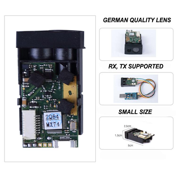 40m Stability Small Distance Measurement Sensor