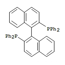 Хиральных химических КАС № 76189-55-4 (Р) -Бинап; (Р) -2, 2'-бис (дифенилфосфино) -1, 1'-Binaphthalene