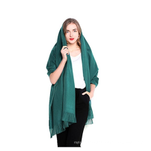 PK18A22HX Frauen große weiche Kaschmir Wolle Schal Schal
