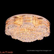 High ceiling fixture led fancy crystal chandelier chandelier ceiling light