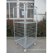 Logistic Roll Pallet Mesh Roll Cage