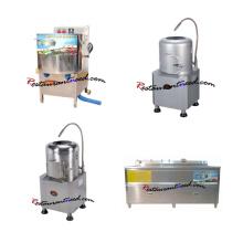 Éplucheuse commerciale de pommes de terre / machine à laver de légumes