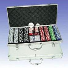 Набор покерных фишек (P400L)