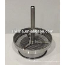 Hoder de shisha à charbon en acier inoxydable narguilé brohood