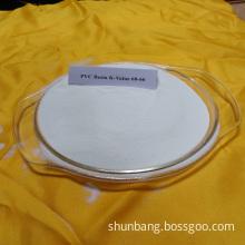 White Polyvinyl Chloride Resin Pvc Resin K57 for Soft Pipe