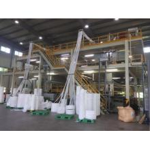 3200mm S modle nonwoven fabric making machine