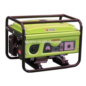 Портативный, маслосберегающий, с воздушным охлаждением, 3,1 кВт бензиновый генератор.