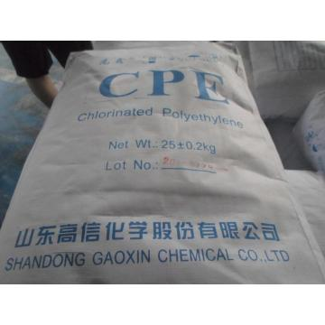 10 Years manufacturer for Chlorinated Polyethylene CPE 135A Resin White and Standard export to Ireland Supplier