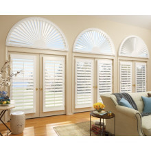 Top Selling PVC Fauxwood plantation shutter louvre for door