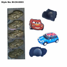 Copper Mold for 3D Rubber Charm of Child Clog Shoes