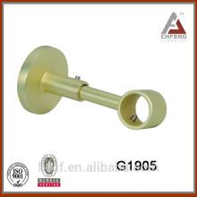 single double metal curtain rod bracket/tension curtain rods brackets/custom curtain hook