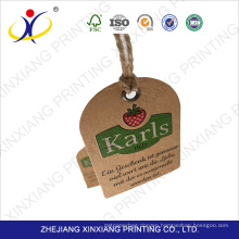 Proper price top quality hang tag label