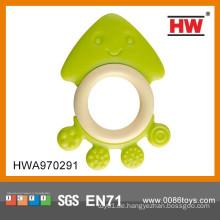 Attraktives reizendes Baby-Silikon-Zahnen-Ring-Spielzeug