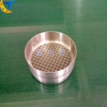 Alta precisão 75mm laboratório eletroformada peneira de teste