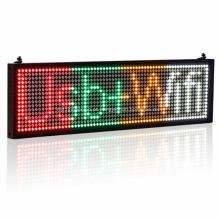 Marcadores de banner de painéis de mensagens LED