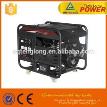 Portable AC monophasé / trois Phase générateur d'essence de 10 kW