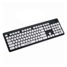 Washable wired keyboard, USB port