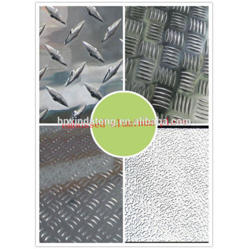 stucco embossed aluminum checkered plate