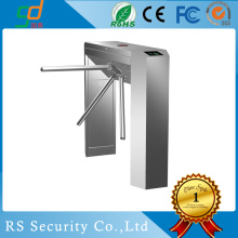 ESD Supermarket Swipe Card Waist Height Turnstile