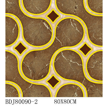 Foshan Golden Glazed Puzzle Tile (BDJ80090-2)