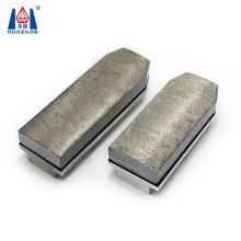 140mm length Metal bond abrasive tools diamond fickert for granite grinding polishing
