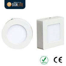 Square/Round Surface Mounted 18W/24W LED Panel / LED Downlight / LED Downlight Panel
