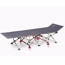 Muy fuerte fácil de abrir barato Pequeña cama plegable de camping sola cama