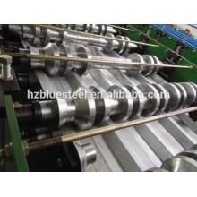 Galvenized Coat Metal Tole Telha Tile Sheet Mill Roll formando máquina à venda, ondulado Rib R Painel RollForming Machine