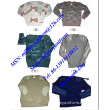 Military Pullover Military Sweater Jersey Camouflage Pullover Sweater Jersey