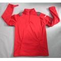 Yj-1070 Mens Red Lightweight Fleece Waterproof Breathable Softshell Jacket