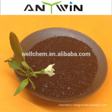 ANYWIN Chinese factory direct supply black high quality 100% Water Soluble Dried Seaweed Price
