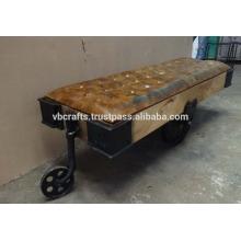 Unique Cart Table Sofa Industrial Design Furniture