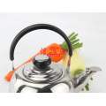 Stainless Steel Round Whistling Teapot (FT-01208)