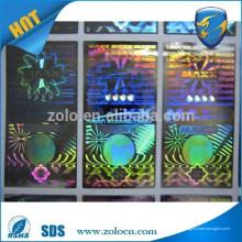 Shenzhen ZOLO autocollant personnalisé anti-faux hologramme autocollant