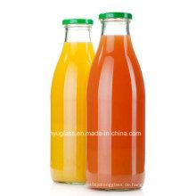 250ml, 500ml, 1000ml Milch Getränke Saft Glasflaschen