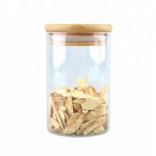 Glass Kitchen Jar Storage for Food with Cork Lid