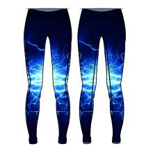 Pantalones de yoga de diseño caliente personalizada imprimir su propio logo pantalones al por mayor